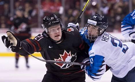 Ville Heinola pelasi jo vuodenvaihteessa alle 20-vuotiaiden MM-kisoissa.