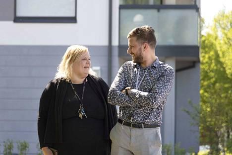 Kevät on ollut Janakkalan asuntokaupoissa kiireistä aikaa, kertovat myyntineuvottelijat Heli Stenberg-Salonen ja Perttu Parviainen OP Koti Janakkalasta.