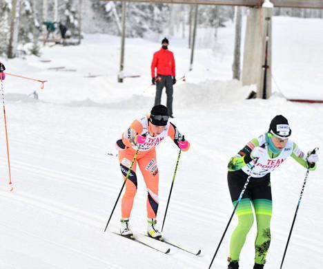 Jämin Jänteen oransseissa sujutteleva Josefiina Böök sijoittui viidenneksi, vaikka rata, matka ja tyyli eivät häntä suosineetkaan.