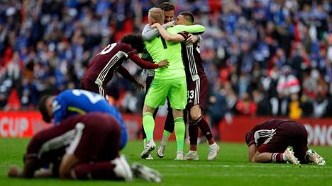 Leicester juhli historiansa ensimmäistä cup-voittoa.
