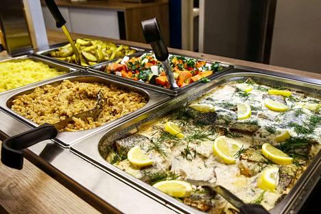 Ravintoloiden buffet-pöydät ovat olleet sallittuja maanantaista lähtien.