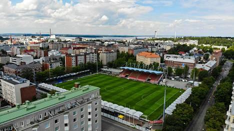 Suunnitelmien mukaan Tampereen Tammelassa ei pelata jalkapalloa pariin vuoteen, kun nykyinen stadion puretaan ja tilalle rakennetaan uusi