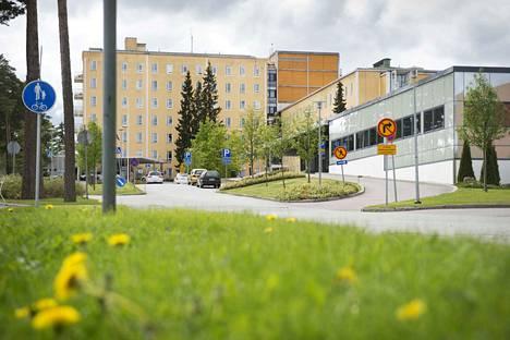 Satakunnan keskussairaala sairaala Pori, kuvituskuva.
