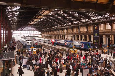 Gare de Lyon on yksi Ranskan pääkaupungin päärautatieasemista.