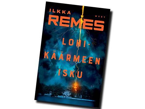 Ilkka Remes, Lohikäärmeen isku, 428 sivua, WSOY 2021