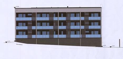 Asunto Oy Papinpelto II:n on määrä valmistua 2021 loppupuolella. Asuntoja taloon tulee 18.