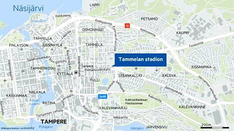 Tammelan stadion sijaitsee Tampereella Tammelassa. Vanha stadion purettiin keväällä 2021, ja tilalle rakennetaan uudenlainen stadionkortteli.