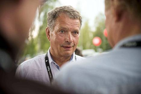 Sauli Niinistö piti kolumnista, jossa kerrottiin tolkun ihmisistä. Kuva on arkistokuva.