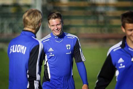Juho Lehtonen on pelannut alle 21-vuotiaiden maajoukkueessakin.