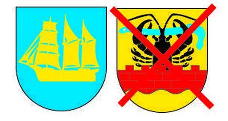 Luvian vaakuna koristaa uutta Eurajoen kuntaa.