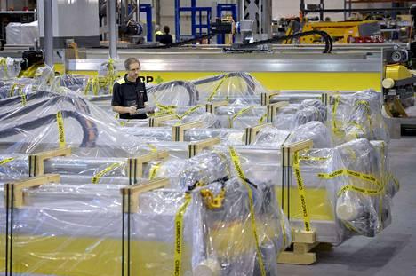 Cimcorp-konserni on rengasteollisuuden automaatiojärjestelmien johtavia toimittajia koko maailmassa. Sen pääkonttori on Ulvilassa.