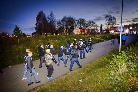 Soldiers of Odin -katupartio aloitti toimintansa viime syksynä Kemissä. Järjestöllä on partioryhmä myös Porissa, mutta sen toiminta näyttää nyt hiipuneen.