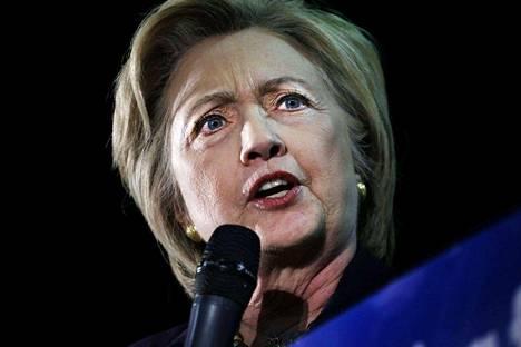 Hillary Clinton uskoo olevansa demokraattipuolueen ehdokas Yhdysvaltojen seuraavissa presidentinvaaleissa.