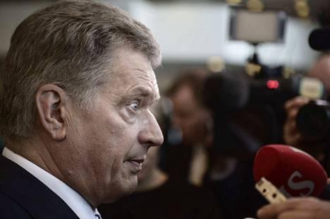 Tasavallan presidentti Sauli Niinistön mielestä Suomi ei voi sulkea pois mahdollista Nato-jäsenyyttä.