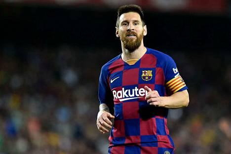 Lionel Messi ja Barcelona pelaavat Mestarien liigaa Italiassa tiistaina