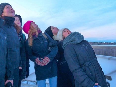 Jaana Pirskanen, Elisa Itkonen, Salla Valle, Laura Puska ja Liina Kuittinen eivät tunteneet toisiaan ennalta, mutta jo ensikohtaaminen sai heidät inspiroitumaan toistensa tekemisistä ja Rauman eksoottisesta ympäristöstä.