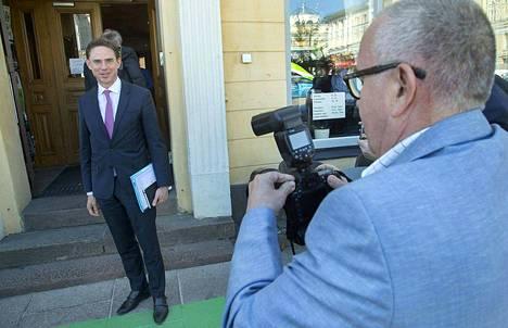 Euroopan komission varapuheenjohtaja Jyrki Katainen. Arkistokuva.