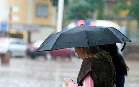 Keskiviikko oli Pirkanmaalla tuulinen ja sateinen. Arkistokuva.