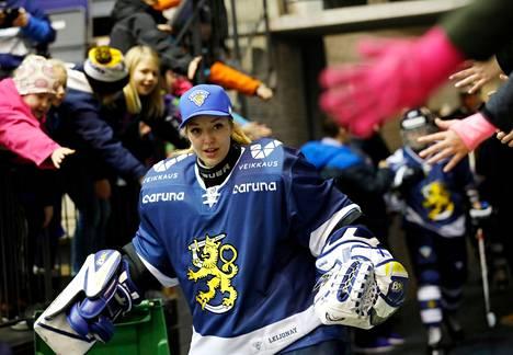 Eveliina Suonpää on lukeutunut vuosia Naisleijonien kokoonpanoon, mutta viime hetkellä peruttuihin MM-kisoihin hän ei ollut lähdössä.