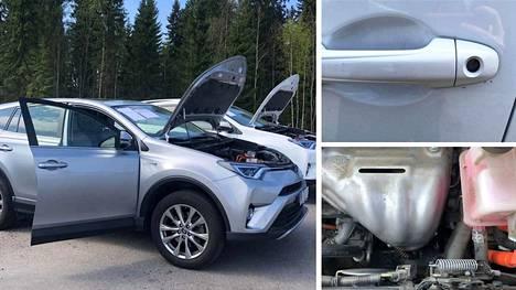 Viisi varastetuista autoista on Toyota Rav4 -mallisia hybridiautoja. Kaikki vastaajat ovat kieltäneet tienneensä autojen alkuperästä.