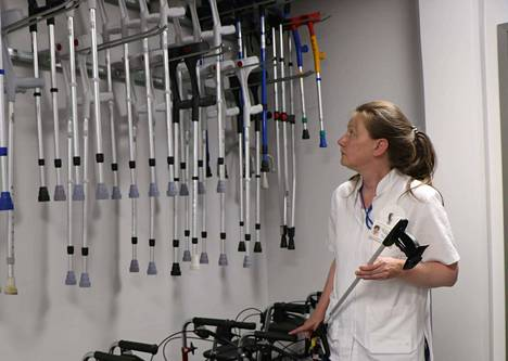 Lääkinnällisen kuntoutuksen osastonhoitajaksi valittiin PoSassa pitkään työskennellyt  Riitta Siekkinen.