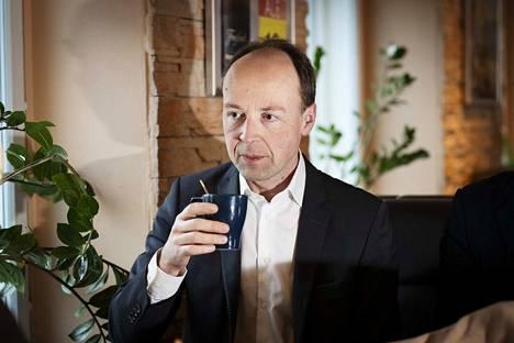 Perussuomalaisten kannatuslukemat ovat nousseet historiallisiin lukemiin puheenjohtaja Jussi Halla-ahon kaudella.