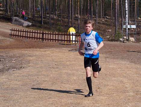 Tino Knuutila oli päivän ylivoimaisin voittaja.