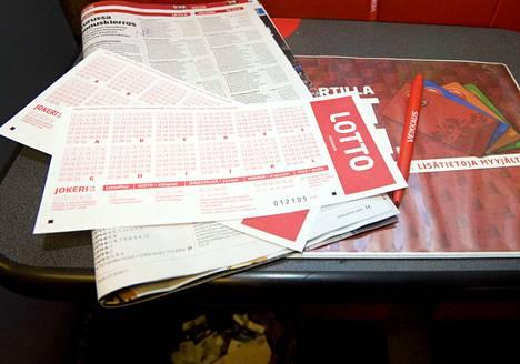 Ensi viikolla Lotossa on pottina 5 miljoonaa euroa.