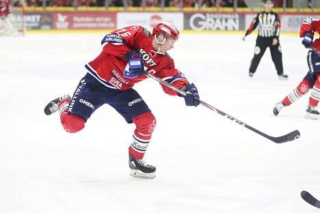IFK-kapteeni Jere Sallinen on maajoukkueen mukana.