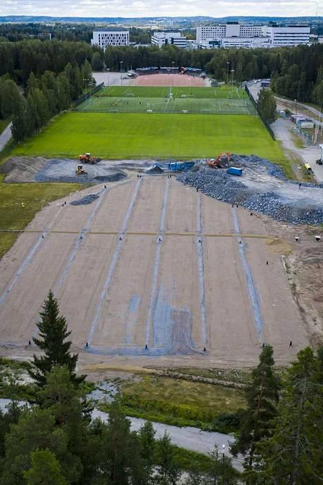 Kauppiin rakennettava pesäpallostadion on ensimmäistä kertaa Manse PP:n käytössä kesällä 2020.