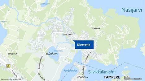 Palo syttyi omakotitalon terassilla Ylöjärven Siivikkalassa.