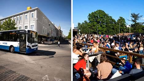 Tampereen yliopistollinen sairaala on tiedottanut useista paikoista, joissa on voinut altistua viime viikon perjantaista lähtien.