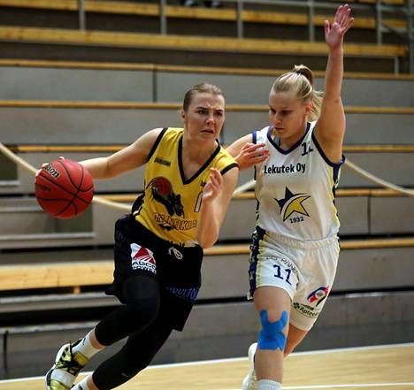 Ellen Järvinen on tärkeä palanen tulevallakin kaudella BC Nokian naisten 1. divisioonan joukkueessa. Viime kaudella hän teki koreja 16 pisteen keskiarvolla ja oli pistetilaston  kuudes.