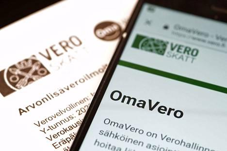 Tilinumeron voi ilmoittaa verottajan verkkopalvelussa OmaVerossa.