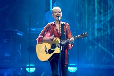 Dido palasi tänä vuonna keikkarintamalle jopa 15 vuoden tauon jälkeen. Kuva on hänen tuoreesta konsertistaan Lontoossa.