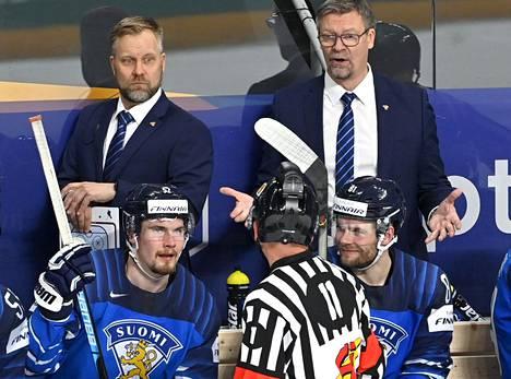 Jukka Jalosen on ollut vaikeaa ymmärtää erotuomareiden päätöksiä MM-kisoissa.