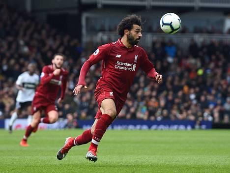 Mohamed Salahin ruuti on ollut märkää viime aikoina. Onnistuuko hän Tottenhamia vastaan.