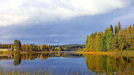 Lauantai-iltapäivä Kylmälahdella Keuruulla.