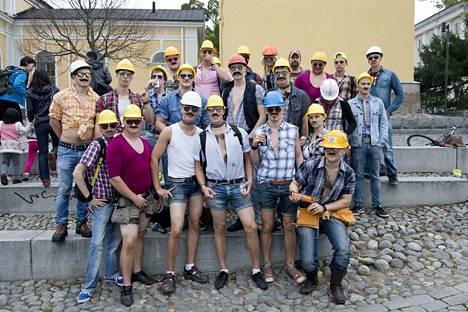 Näin komeasti juhlistettiin Tampereen ammattikorkeakoulun opiskelijoiden perinteisiä tursajaisia vuonna 2013. Tunnistatko tuttuja kasvoja kuvista?