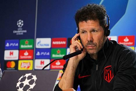 Atletico Madridin mangeri Diego Simeone pystyy lataamaan yksittäisiin otteluihin odotettua enemmän.
