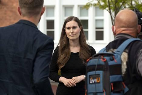Tilanne on täällä erittäin vaikea perheille ja seutukunnalle, Sanna Marin totesi Jämsässä perjantaina.