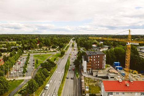 Ensimmäiseksi kortteliin valmistui Rovastinlinnan kanssa lähes identtinen Pappilanmäki. Koko kortteli on valmis keväällä 2022.