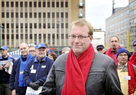 Juha Sandberg haki Porin perusturvajohtajan virkaa.
