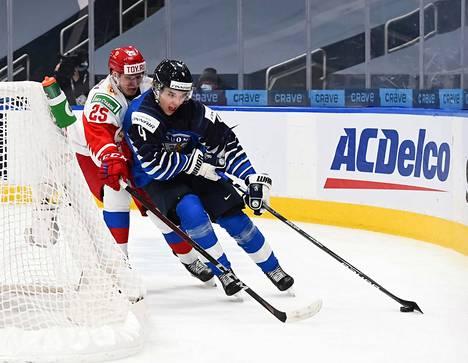 Ville Heinola säväytti nuorten MM-kisoissa.