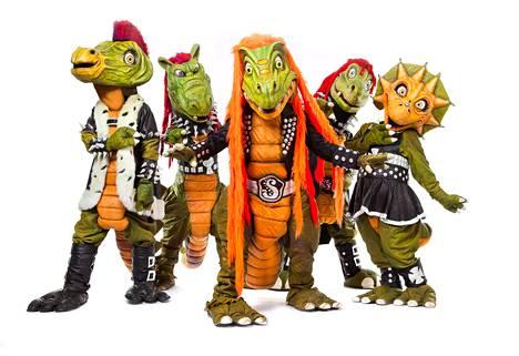 Hevisaurus on suosittu lastenmusiikkiyhtye. Yhtyeen solisti esiintyy nimellä Herra Hevisaurus ja on tyrannosaurus rex.