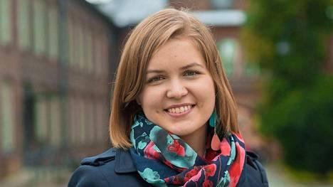 Suvi Mäkeläinen sai eurovaaleissa 4600 ääntä.