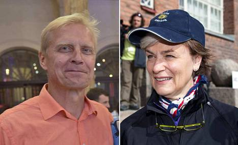 Arto Bryggare (sd) ja Astrid Thors (r) ansaitsivat kumpikin yli 100 000 euroa viime vuonna.