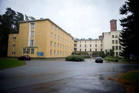 Satalinnassa toimi aikaisemmin Harjavallan vastaanottokeskus. Arkistokuva.
