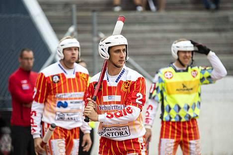 Rami Mäkinen löi Mansea vastaan kaksi kunnaria.