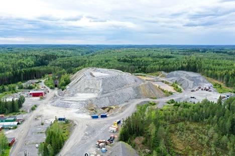 Dragon Miningin Oriveden kultakaivos kuvattuna 15. heinäkuuta 2019.